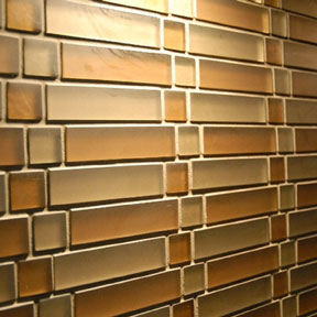 Detail Glass Tile Backsplash thumbnail